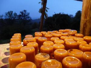 Preparazione del cibo nell agricamping Ixtlan
