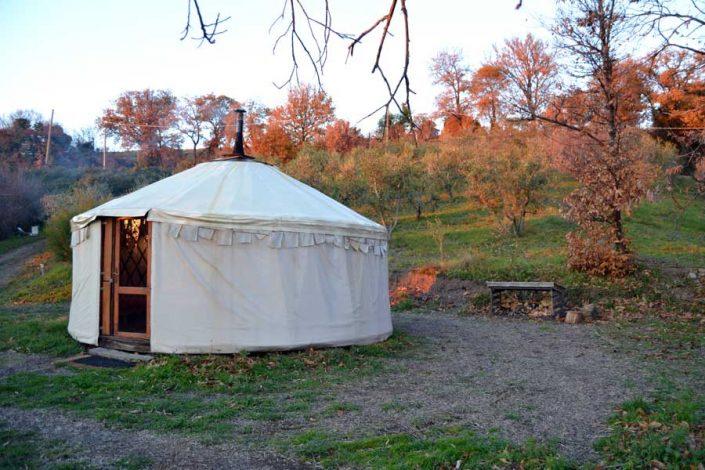 Yurta campeggio Maremma toscana