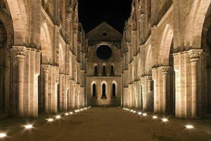 San Galgano di notte